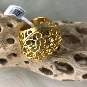 Gold Tone Sasha Ring